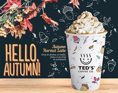 "Check out new work on my @Behance portfolio: ""Poster designs for Ted's Coffee Co."" http://be.net/gallery/57504185/Poster-designs-for-Teds-Coffee-Co"