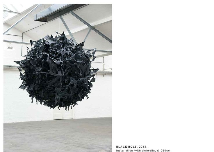 Black Hole, Şakir Gökçebağ, 2013.