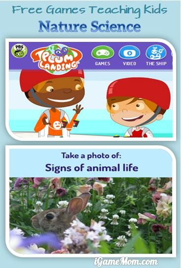 Wonderful FREE online games + a FREE app from PBS Kids - teaching kids nature science, life in the nature, and the balance of the ecosystems. #kidsapps #FreeApps