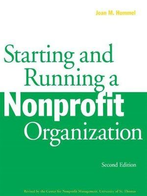 OverDrive eBook: Starting and Running a Nonprofit Organization