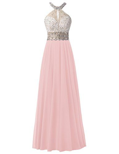 Dresstells® Long Chiffon Halter Neck Prom Dress With Bead... https://www.amazon.co.uk/dp/B01KNYO7DS/ref=cm_sw_r_pi_dp_x_JKYzybJ97XD4A
