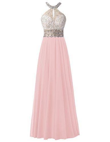 Dresstells® Long Chiffon Halter Neck Prom Dress With Bead... https://www.amazon.co.uk/dp/B01KNYO7DS/ref=cm_sw_r_pi_dp_x_JKYzybJ97XD4A