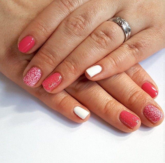 CND Shellac Pink Bikini & Cream Puff 💖