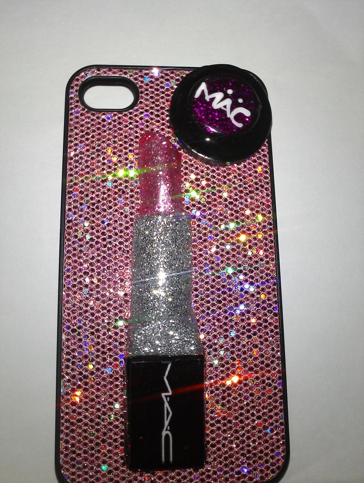 Iphone 4 Mac Make Up Case SALE. 14.00, via Etsy. (With