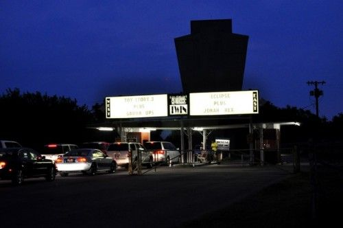 Admiral Twin Drive-in, probably my favorite thing to do in Tulsa in the summer