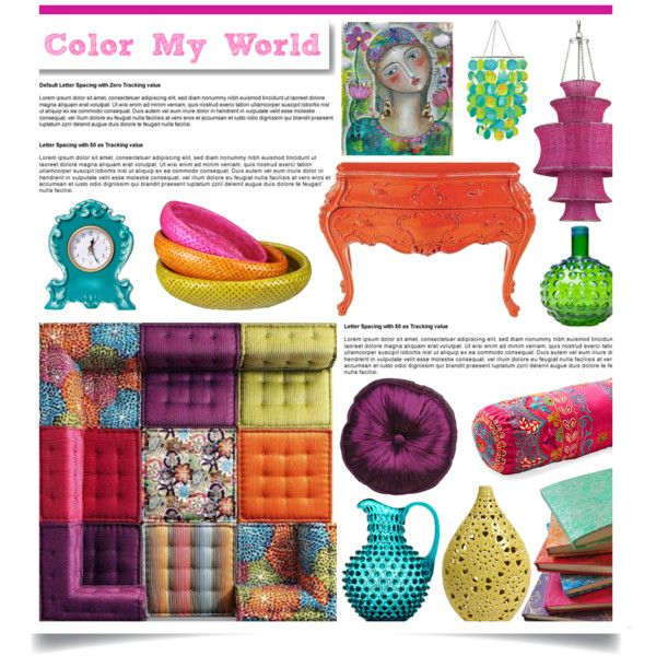 """""""Color My World"""" Contest, created by hmb213 on Polyvore"""