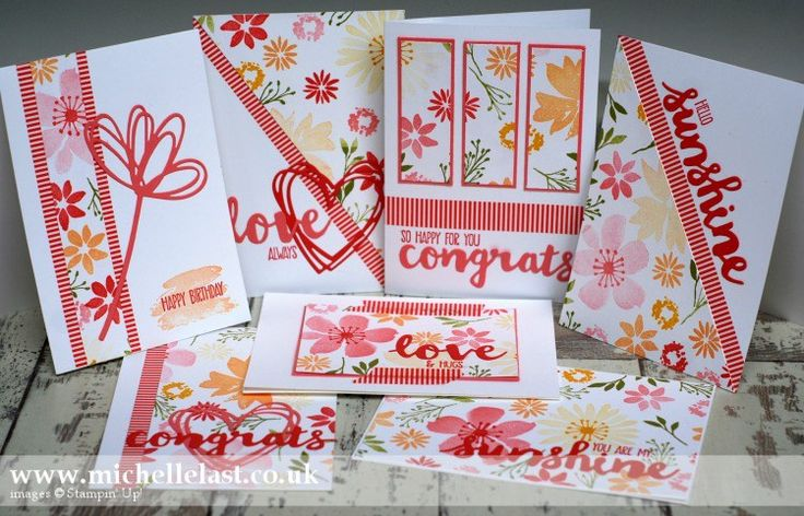 One Sheet Wonder using Blooms & Wishes - with Michelle Last