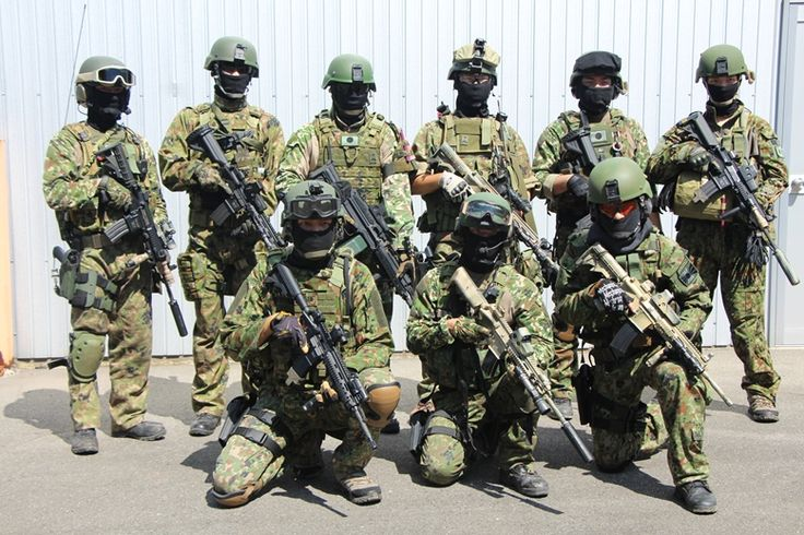 Japanese special force group.
