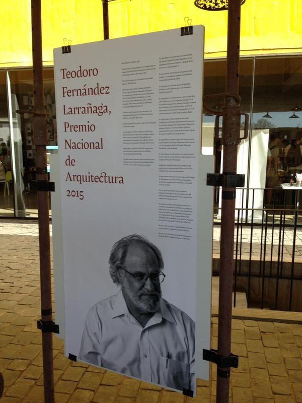#Bienal de #Arquitectura Teodoro Fernández, Premio -Nacional de Arquitectura