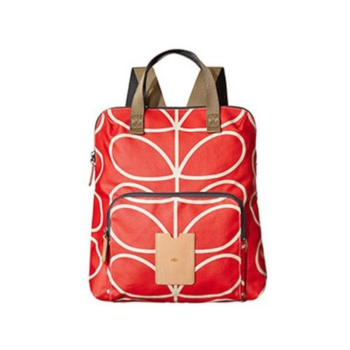 Orla Kiely ETC Backpack Giant Linear Stem Red