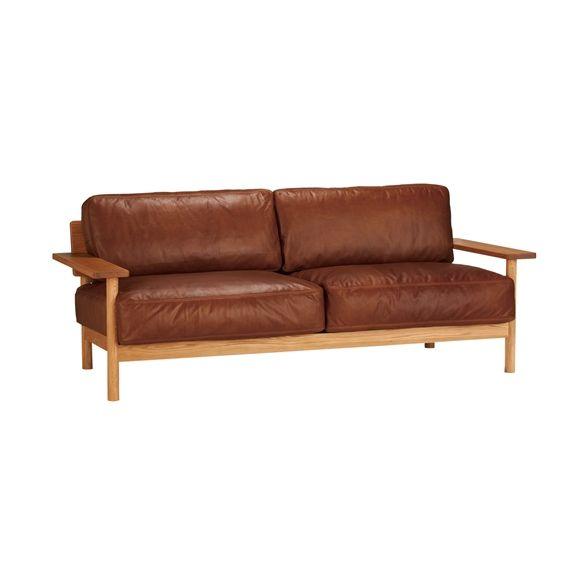 DIMANCHE SOFA (C3) Leather: ソファ デザイン家具 インテリア雑貨 - IDEE SHOP Online