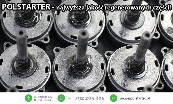 ⚫ Nasze części przed wysyłką są dokładnie sprawdzane na profesjonalnych maszynach! Dbamy o najwyższą jakość naszych produktów! ⚫Pozostałe aukcje allegro:  ➜http://allegro.pl/listing/user/listing.php?us_id=26261890 ⚫Odwiedź także naszą stronę internetową oraz sklep www: ➜www.polstarter.pl ➜www.sklep.polstarter.pl ⚫KONTAKT: 📲792 205 305 ✉allegro@polstarter.pl #rozrusznik #rozruszniki #alternator #alternatory #samochód #auto #częścisamochodowe #autoczęści #mechaniksamochodowy #regenerowany