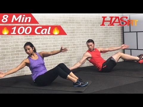 8 Min Abs Six Pack Workout - 8 Minute Abs 6 Pack Workout Abdominal 6 Pack Ab Exercises for Men Women - YouTube