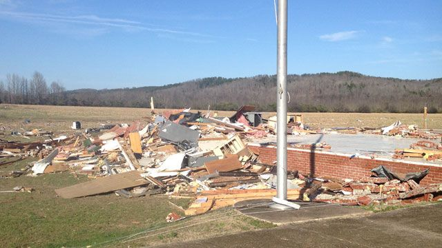 Tornado causes significant damage in Birmingham Alabama: NWS