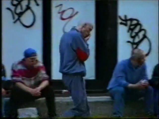 "Excerpts from Lola da musica's documentary ""Gabber"" 1995 by Ari…"