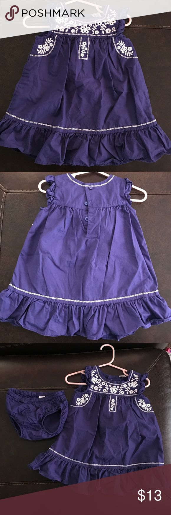 Carter's Dress - 12m - NWOT Carter's Dress - 12m - NWOT - This has been washed, but never worn. It was to big for my daughter & she never got to wear it. Carter's Dresses Casual