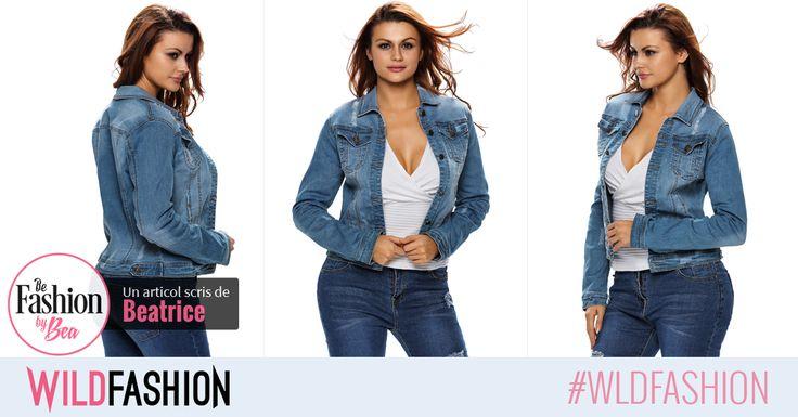 Reimprospateaza sectiunea dedicata denimului din garderoba ta cu o jacheta versatila si cool. Cum ti se pare aceasta?