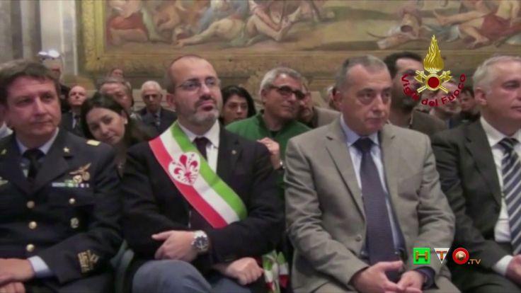 """Vigili del Fuoco - Pisa - I VV.F. premiati con la """"Torre d'argento"""" - ww..."""