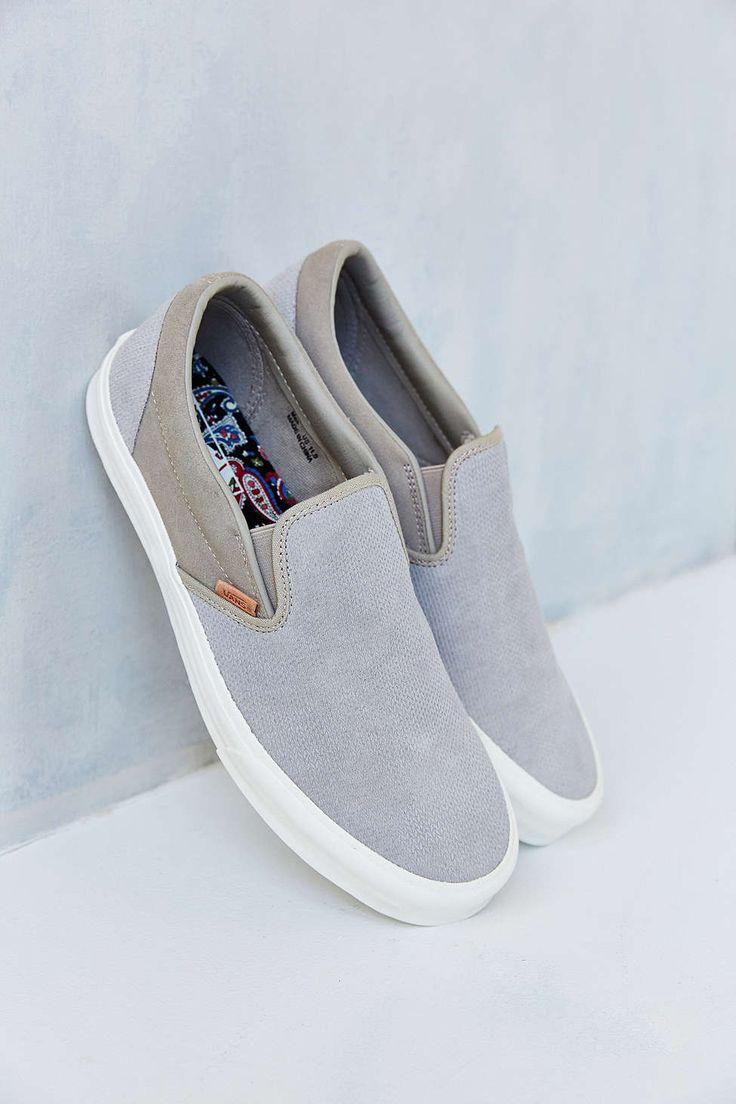 Knitting Slip On Shoes : Vans classic california knit suede slip on men s sneaker