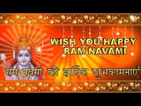 Happy Ram Navami, Ram Navami Wishes, Ram Navami Greetings, Ram Navami Animation - YouTube