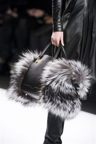 This season's handbags were across the board in terms of size, silhouette and texture. New York Fashion