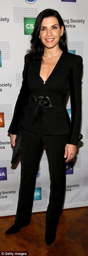 Julianna Margulies proved less is definitely more at the annual Casting Society of America...