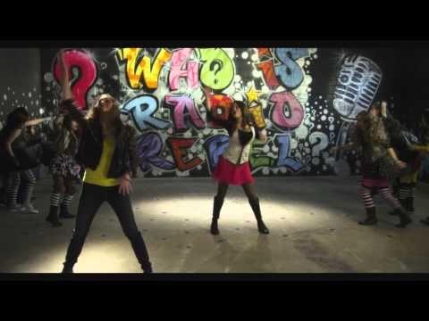 "Debby Ryan's cover of ""We Got the Beat"" in RADIO REBEL is awesome!  And the music video is so fun! #radiorebel #debbyryan #disney #disneychannel"