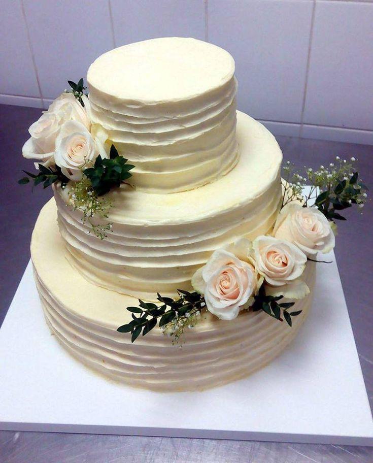 Svatební dort z cukrárny Moje cukrářství