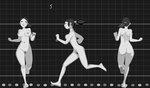 Animated walks and runs (nice jiggle animation)  by Felix Sputnik on Vimeo.