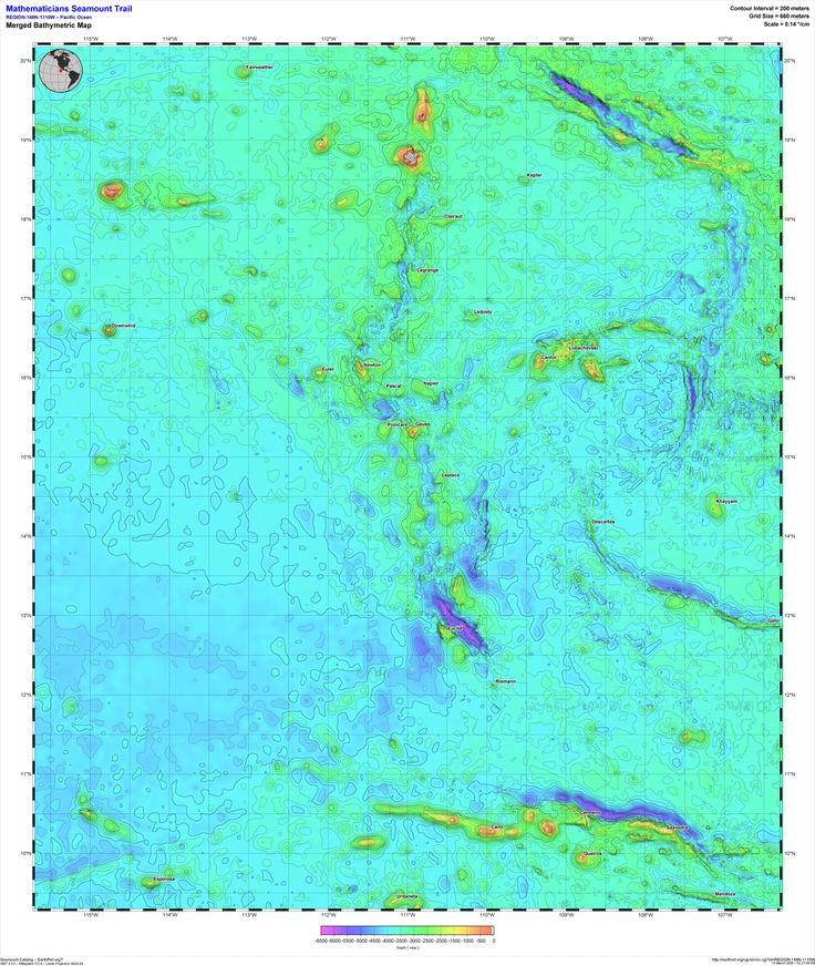 Mathematicians Seamounts Math Cool Stuff Pinterest