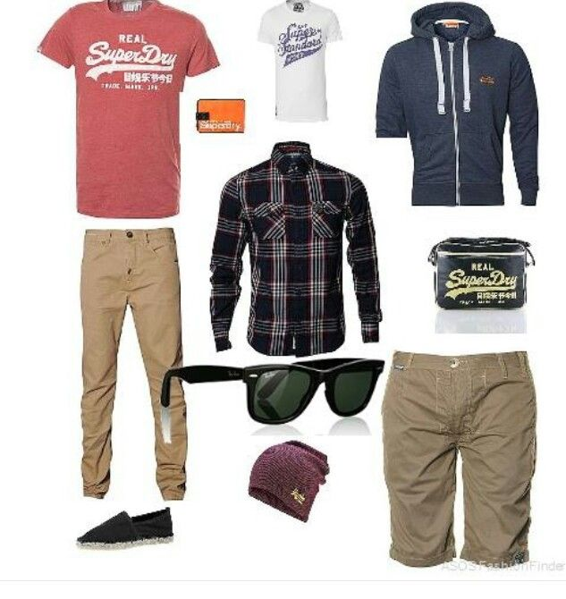 Teen boys retail outfits