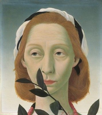 Pyke Koch (1901-1991), Portret van Jkvr. J.C van Boetzelaer II, 1960. Koch pursued technical perfection, studying Renaissance masters such as Piero della Francesca in Italy in the 1930s. There he became associated with fascism, which damaged his reputation after the war. Collection Museum MORE, Gorssel, Netherlands.