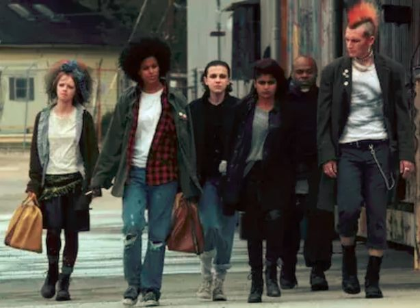 "Eleven ""Jane"" and Kali's gang - Stranger Things 2017"