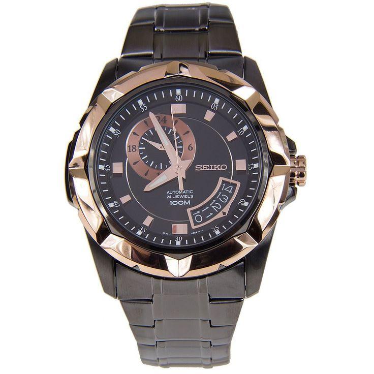 A-Watches.com - Seiko Mens Black Automatic Watch SSA228K1 SSA228, S$235.64 (http://www.a-watches.com/seiko-automatic-ssa228k1)