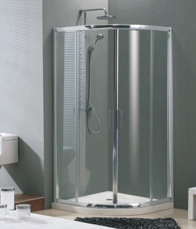 10 Small House Designs That Break Preconceptions About Small Size: 17 Best Ideas About Shower Enclosure On Pinterest