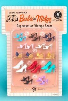 Reproduction vintage shoes
