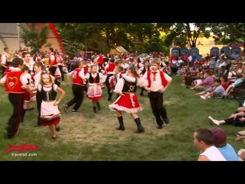 Andy and Anton are in this video. South Dakota: Tabor Czech Days