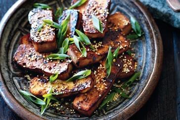 Barbecued tofu http://www.taste.com.au/recipes/26911/barbecued+tofu