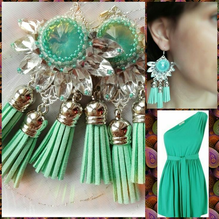 Bonsmi -handmade earrings