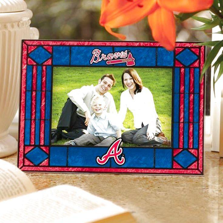 Atlanta Braves Art Glass Horizontal Frame - $18.99
