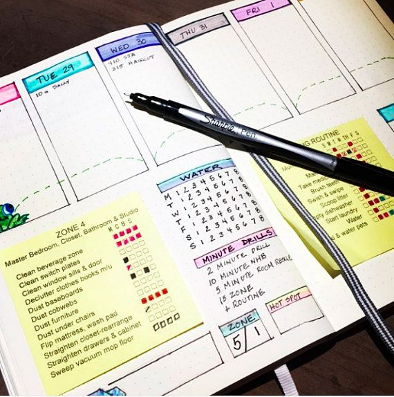 Perfect for your Bullet Journal, Control Journal, Planner, Calendar, or Bathroom Mirror! Create you own checklists and print on your own sticky notes using this layout template. Worth the $4 bucks to save yourself the HOURS I spent creating these for myself! Easily customize these