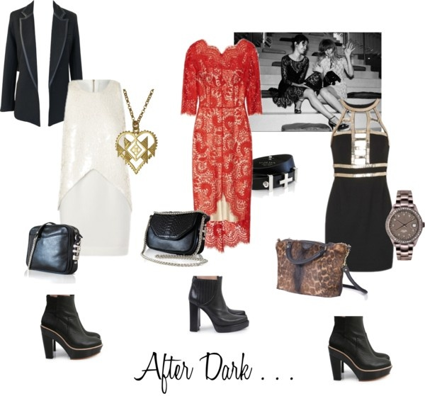 """AFTER DARK"" by superettestore on Polyvore"