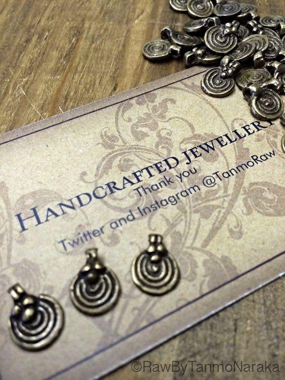 Brass pendants Indian tribal ethnic beautiful art supplies metal beads