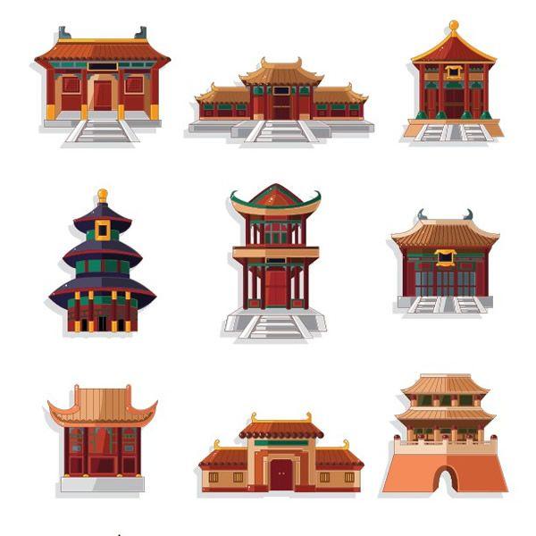 78 idee su architettura cinese su pinterest templi for Architettura classica