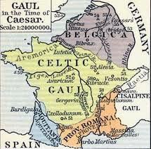 Map of Celtic Gaul