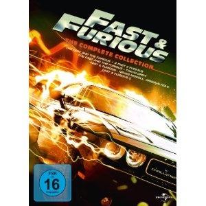 Fast & Furious - The Complete Collection [5 DVDs]: Amazon.de: Paul Walker, Vin Diesel, Michelle Rodriguez, BT, David Arnold, Brian Tyler, Rob Cohen, John Singleton, Justin Lin: Filme & TV