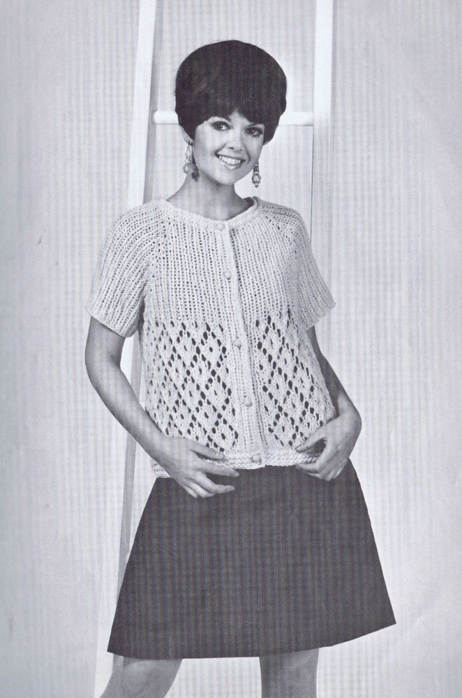 1000+ images about Vintage Knitting Crochet Patterns for the Family on Pinter...