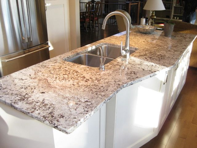 this may be my new favorite countertop material. Just the right mix ...
