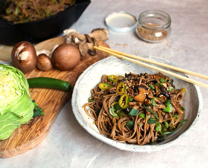 Looking for an easy soba noodle recipe? How about three? Try these easy plant-based noodle recipes from Maja Brekalo!