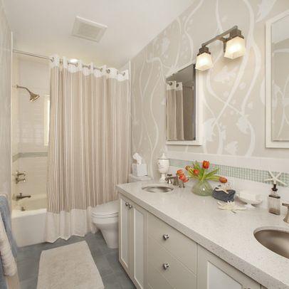 Image Gallery Website Kid us bathroom contemporary bathroom san francisco Faiella Design show curtain with trim